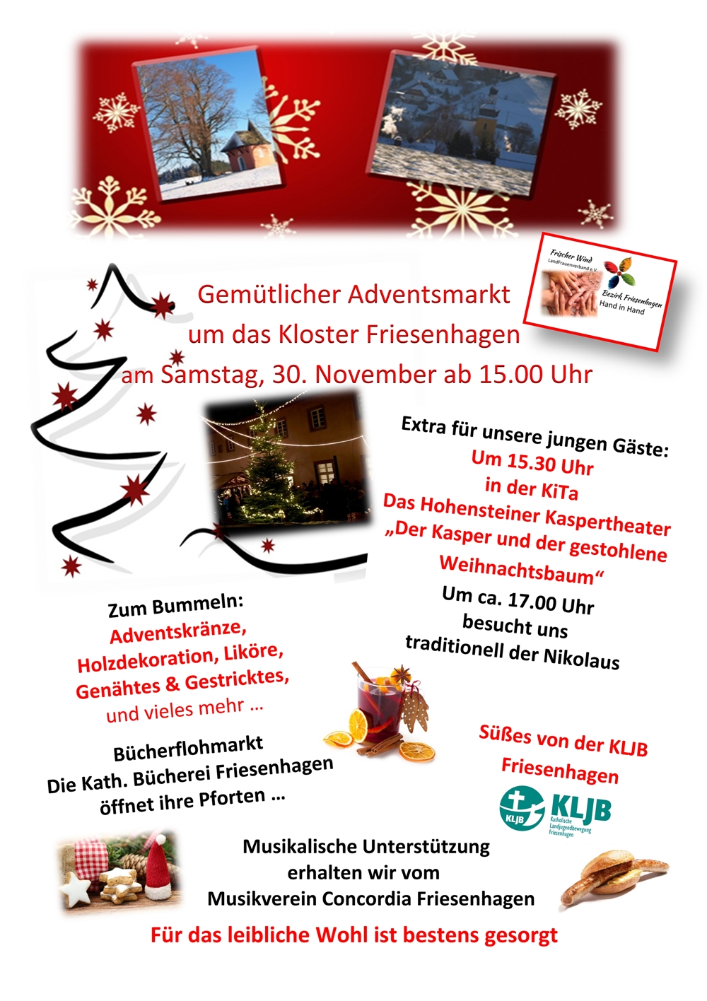 Flyer Adventsmarkt 2019